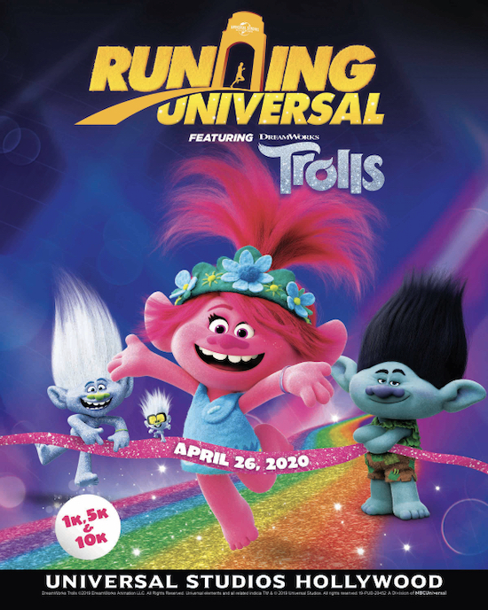 Mousesteps Universal Studios Hollywood Announces Trolls Theme