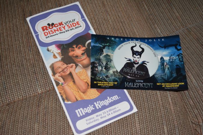 Disney Button 24 hour Maleficent Show Your Villainous Disney Side May 23 NEW