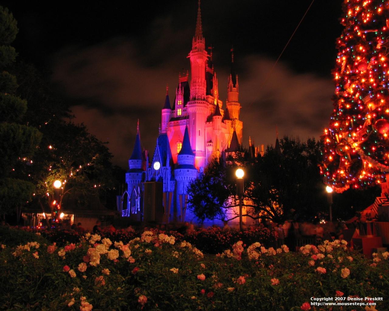 Desktop Wallpaper Christmas Photos From Walt Disney World Mousesteps