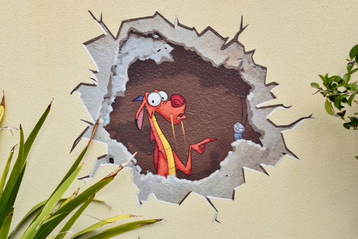 Epcot Festival Of The Arts Hidden Character Artwork Around World Showcase W Spoilers Mousesteps